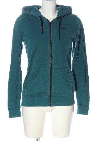 Nike Kapuzensweatshirt türkis Casual-Look