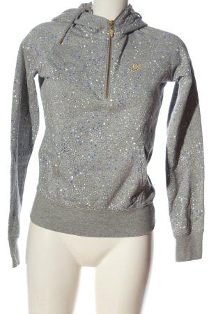 Nike Kapuzensweatshirt abstraktes Muster Casual-Look