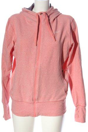 Nike Kapuzensweatshirt pink-wollweiß meliert Casual-Look