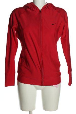 Nike Kapuzensweatshirt rot sportlicher Stil