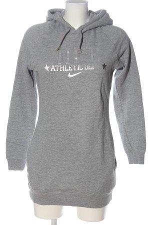 Nike Kapuzensweatshirt hellgrau meliert Casual-Look