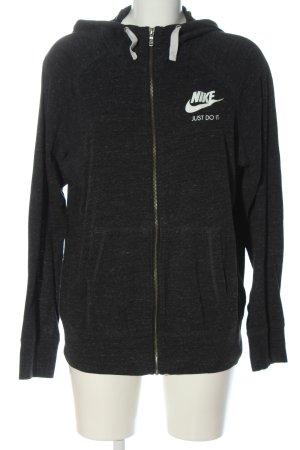 Nike Kapuzensweatshirt schwarz meliert Casual-Look