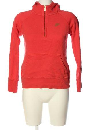 Nike Kapuzensweatshirt rot Casual-Look