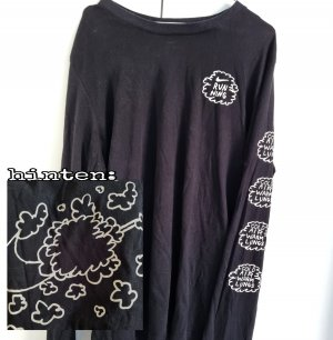 Nike Langarm Tshirt Bubbles Mit Swoosh Spellout Backprint vintage