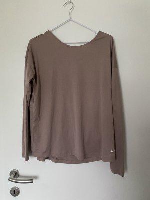 Nike Langarmshirt L lila neu