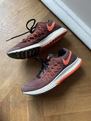 Nike Laufschuhe Sneaker Gr. 38,5 Orange-Schwarz