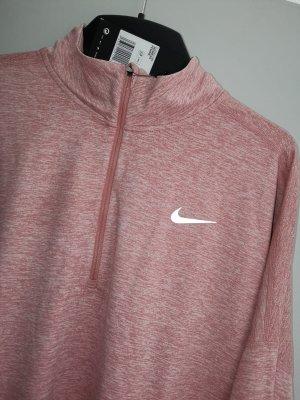 Nike Laufshirt Langarmshirt NEU XL 42 rose rosa pastell Pulli Pullover Sweatshirt