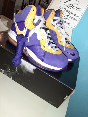 nike lebron lakers in 37.5 court purple jordan 6/4/11 original  nike jordan