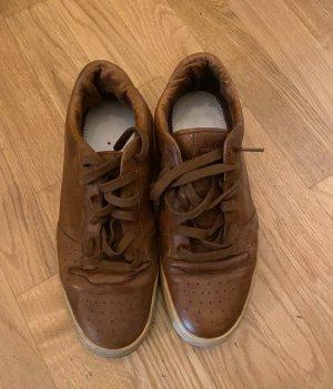 Nike Leder Sneaker Schuhe Sportschuhe 43 braun