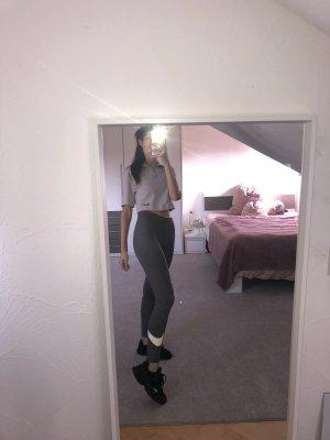 Nike Leggings grau Größe S