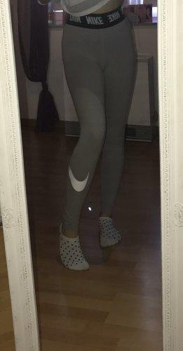 Nike Leggings grigio chiaro-nero
