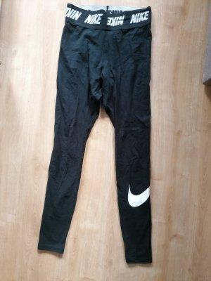 Nike Leggings schwarz S 36 lange Hose Jogginghose