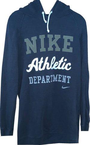 Nike Longhoodie in blau