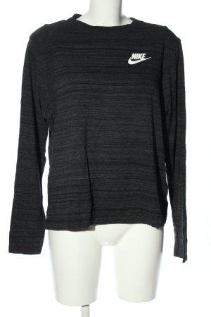 Nike Longsleeve Schriftzug gedruckt Casual-Look
