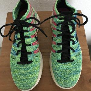 Adidas Originals Sneakers met veters neon groen Nylon
