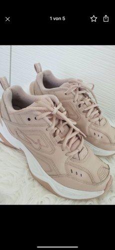 Nike M2K Sneaker Sportschuhe 38 Rosé rosa beige weiß