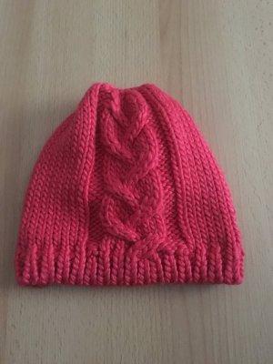 Nike Chapeau en tricot magenta