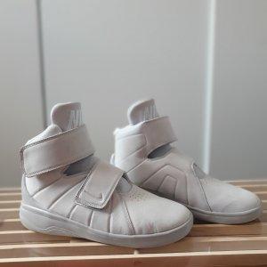 Nike Basket velcro gris clair