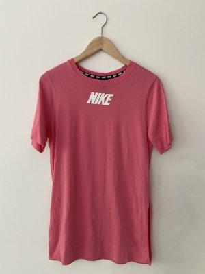 NIKE Maxi-Shirt, pink, nur 1x getragen