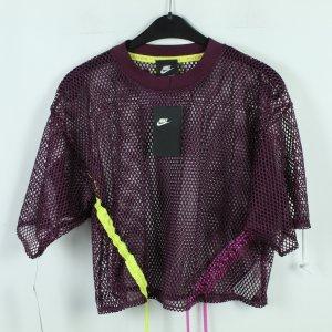 NIKE Mesh Shirt Gr. S purpur oversized - neu (20/03/253)