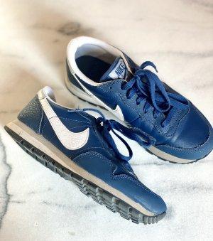 Nike Metro Plus Sneaker Echtleder Blau