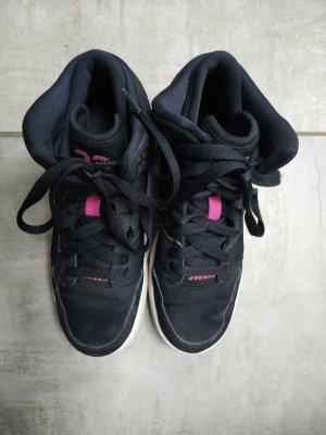 Nike Zapatillas altas negro-rosa