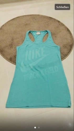 Nike Oberteil top gym Yoga Fitness xs s m 34 36 Türkis grün Fashion