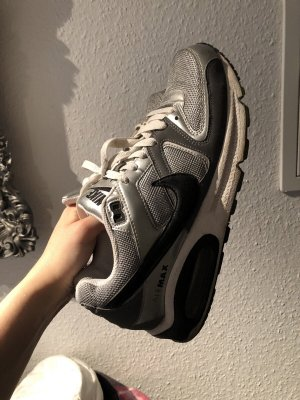 Nike Original Airmax Schuhe Sneaker Cool Silber