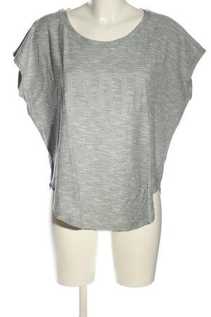 Nike Oversized Shirt hellgrau meliert Casual-Look