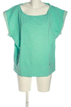 Nike Oversized Shirt grün meliert Casual-Look