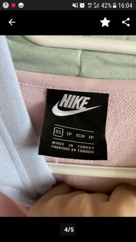 nike pastell pullover