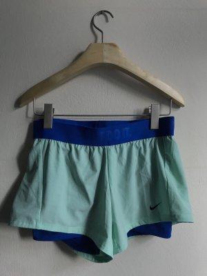 Nike Short de sport turquoise-bleu