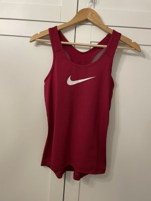 Nike Performance Sport-Top noble red/white Gr. S