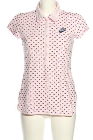 Nike Polo stampa integrale stile casual