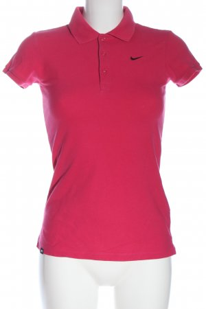 Nike Polo-Shirt pink Casual-Look
