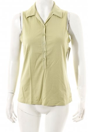 Nike Polo Top lime-green athletic style