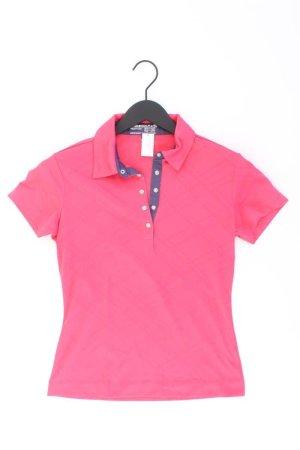 Nike Poloshirt Größe 34 Kurzarm pink aus Polyester
