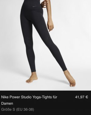 Nike Power Studio Yoga-Tights für Damen