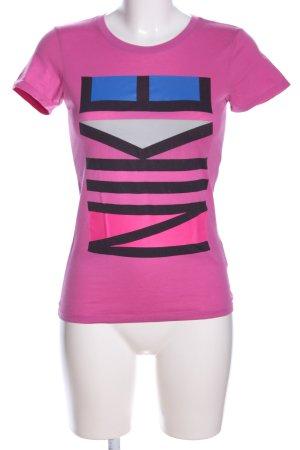 Nike Print-Shirt Motivdruck Casual-Look