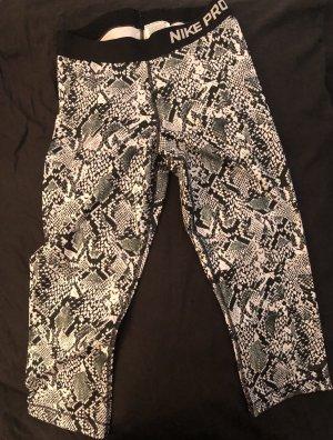 Nike Spodnie sportowe czarny-biały