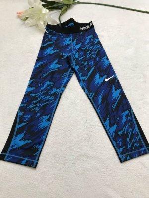 Nike Sportbroek zwart-blauw