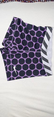 Nike pro Pantalón corto deportivo negro-lila