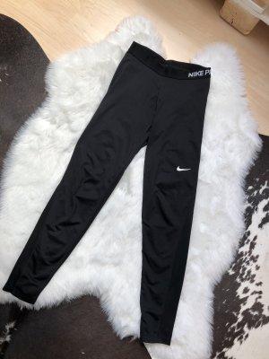 Nike Sportbroek zwart-wit