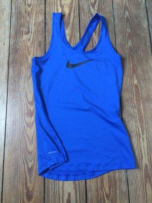 Nike pro Sports Tank blue