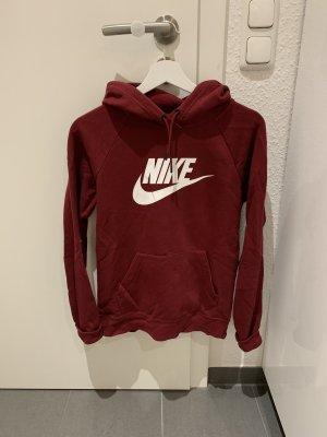 Nike Capuchon sweater bordeaux-karmijn