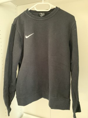 Nike Jersey de cuello redondo negro-blanco