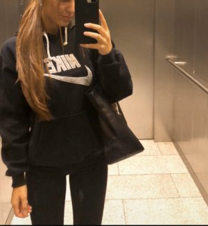 Nike Hooded Sweater black-white