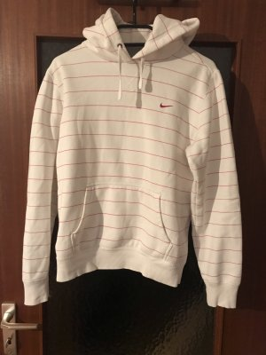 Nike Capuchon sweater wit-roze