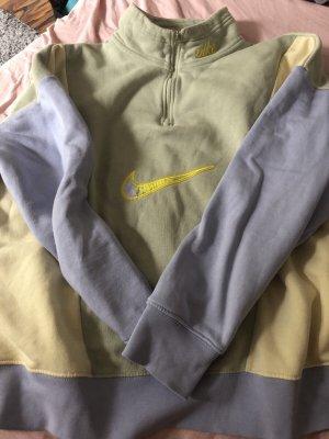 Nike Pull long gris vert