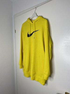 Nike Pull long jaune
